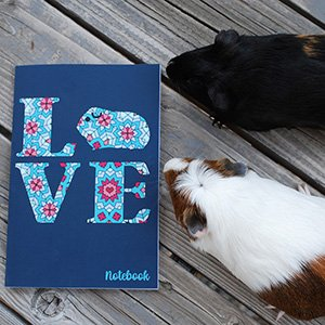 Love Guinea Pigs Notebook
